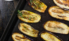 Healthy Pan Fried Baby Eggplant With Gremolata – Girl And ..