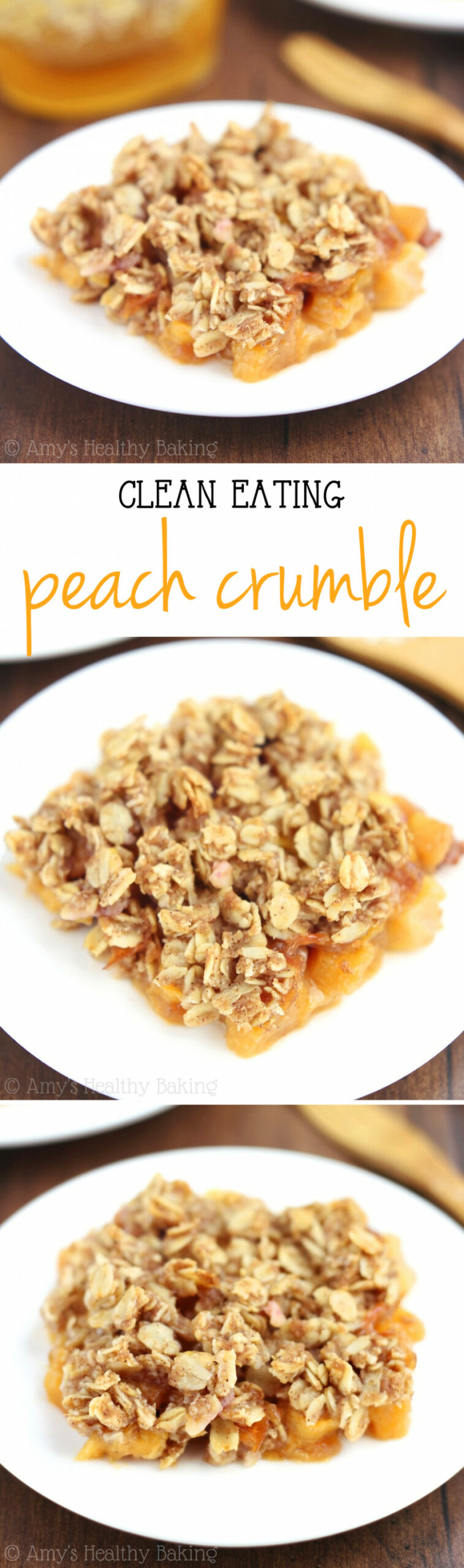Healthy Peach Crumble - Recipes To Eat Healthy