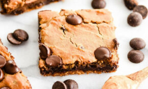 Healthy Peanut Butter Blondies & Video – JoyFoodSunshine – Recipes Desserts Healthy