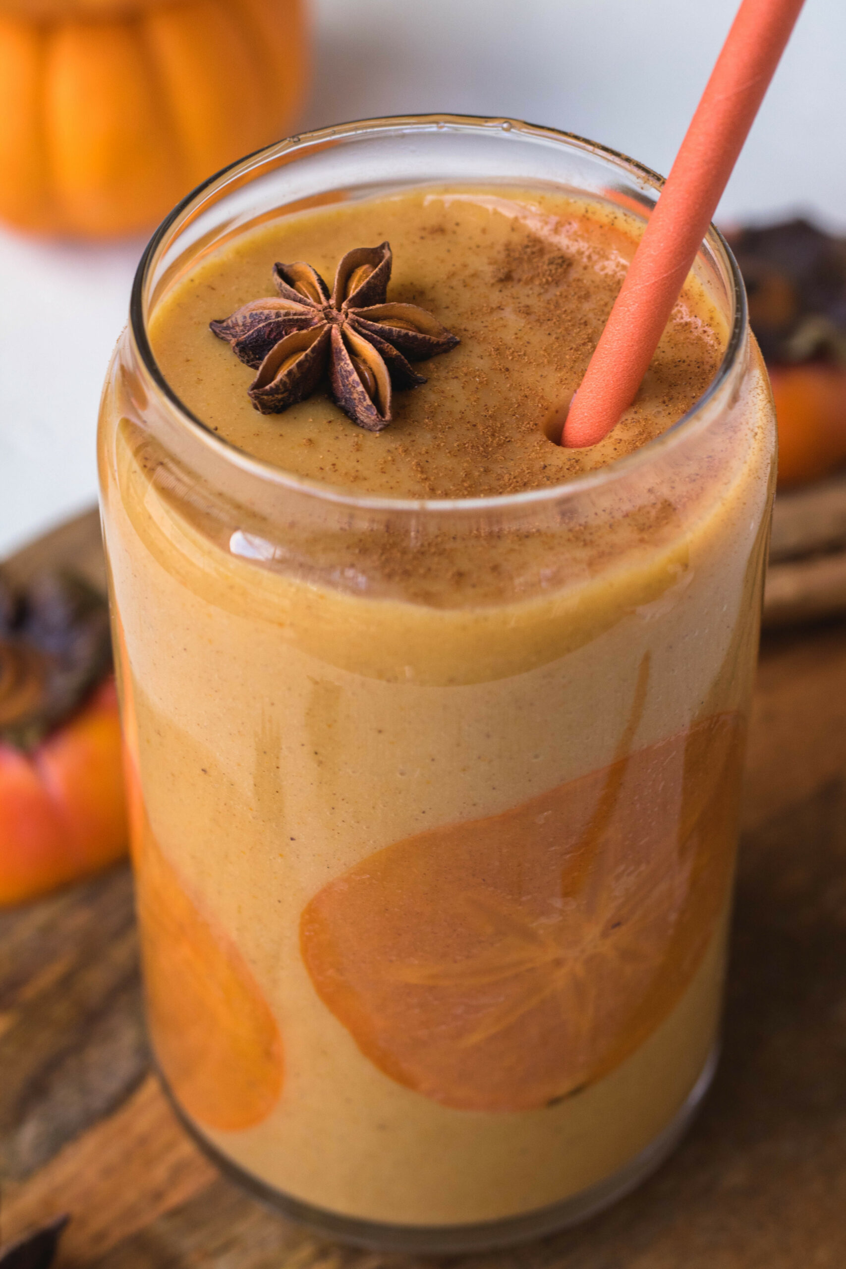 Healthy Persimmon Smoothie | Lifestyle Of A Foodie - Recipes Of Healthy Drinks