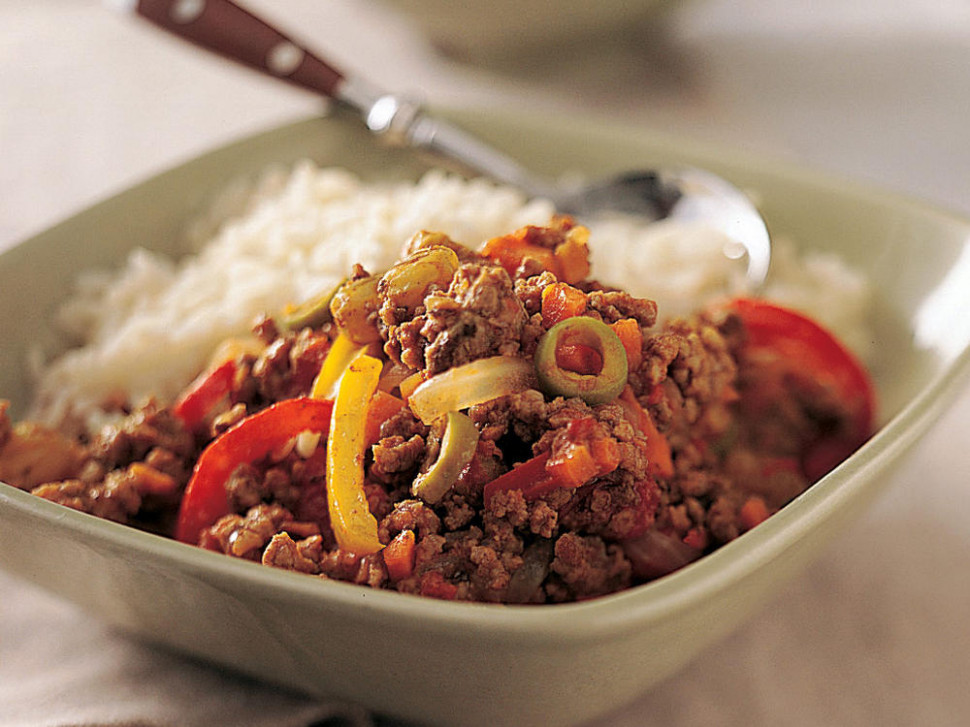 Healthy Picadillo Recipe | MyRecipes - Healthy Mince Recipes