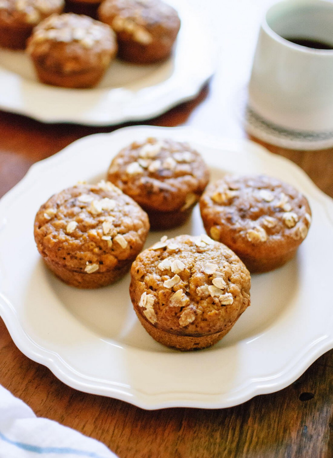 Healthy Pumpkin Muffins Recipe - Cookie and Kate - healthy recipes muffins