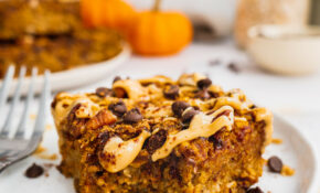 HEALTHY PUMPKIN OATMEAL BARS (GLUTEN FREE, VEGAN) – Recipes Breakfast Bars Healthy