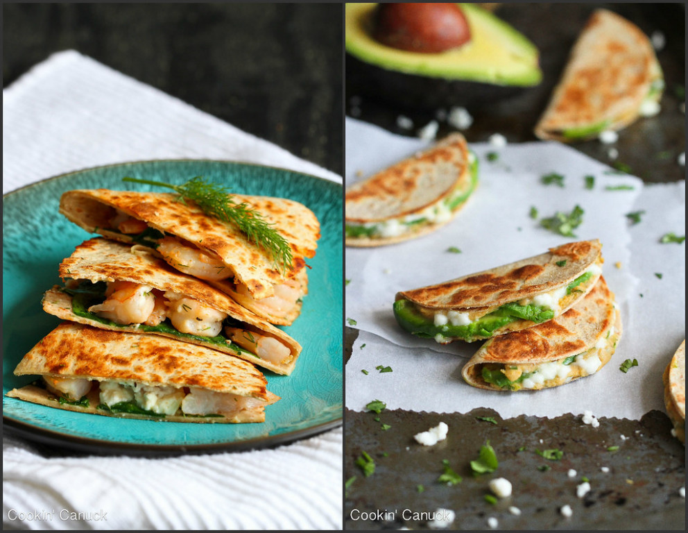 Healthy Quesadillas Recipes | cookincanuck.com