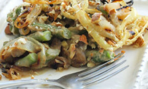 Healthy Recipe Makeover: Green Bean Casserole {vegan And ..