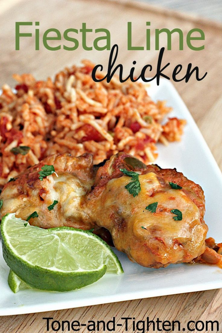 Healthy Recipes : Healthy Fiesta Lime Chicken Recipe ..