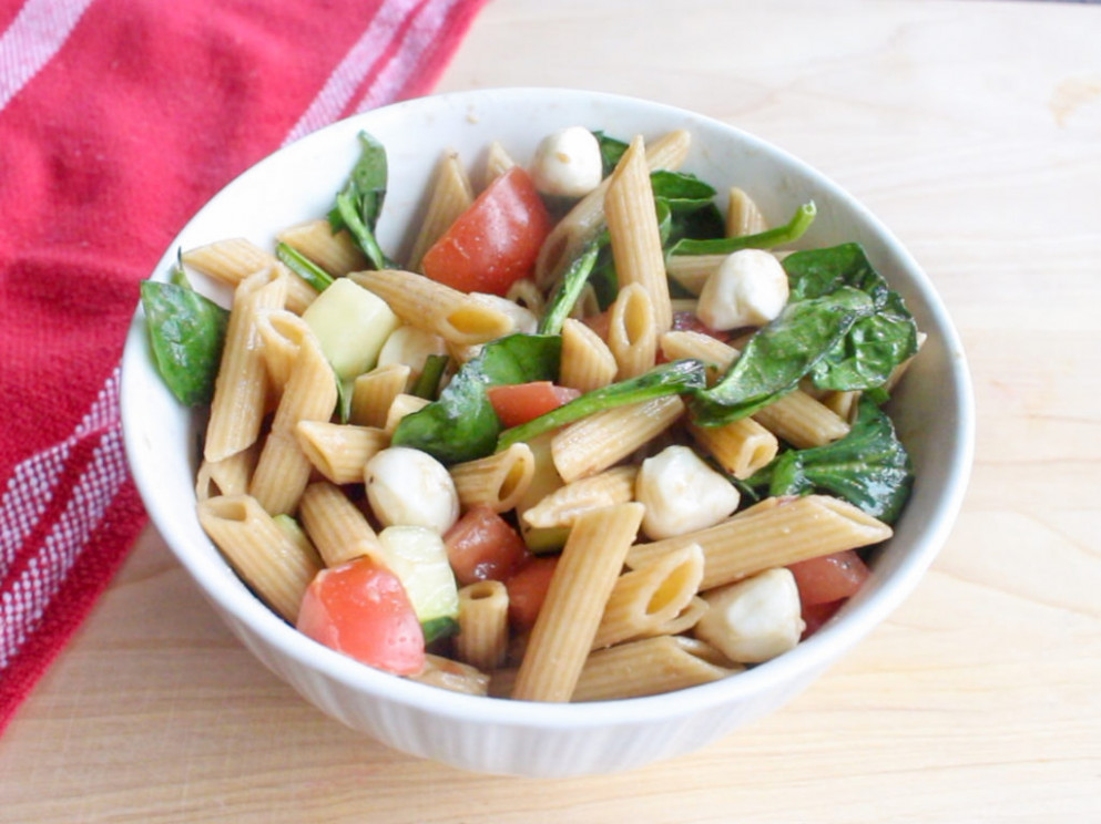 Healthy Recipes: Pasta Salad - Second Harvest Food Bank of ..