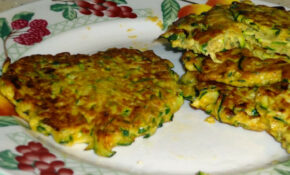 Healthy Recipes! Zucchini Fritters And Cauliflower Poppers – Food Recipes Healthy