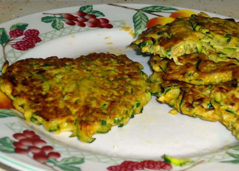Healthy Recipes! Zucchini Fritters and Cauliflower Poppers - food recipes healthy