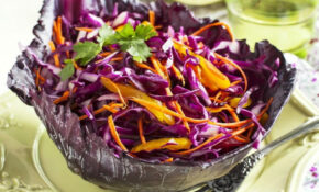 Healthy Red Cabbage Slaw Recipe – Healthy Red Cabbage Recipes