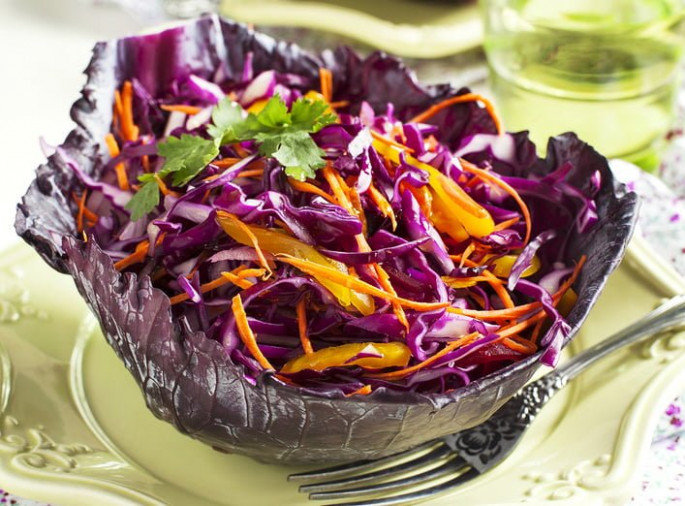 Healthy Red Cabbage Slaw Recipe - healthy red cabbage recipes