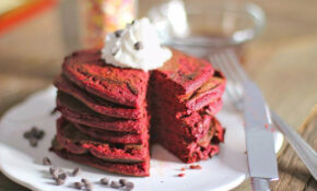 Healthy Red Velvet Pancakes (high Protein, Gluten Free) – Recipes Desserts Healthy