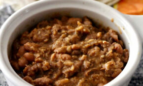 Healthy Refried Beans – Healthy Recipes With Refried Beans