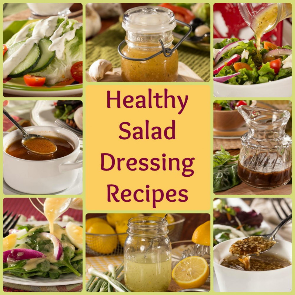 Healthy Salad Dressing Recipes: 8 Easy Favorites ..