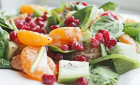 Healthy Salad Recipe With Fruits And Spinach | Clean ..