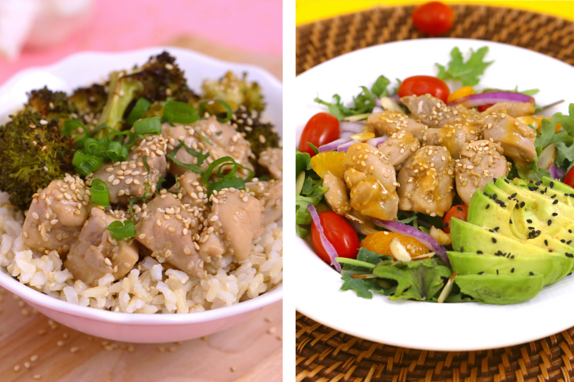 Healthy Sesame Chicken 12 Ways | Easy Meal Prep Lunch Bowls ..