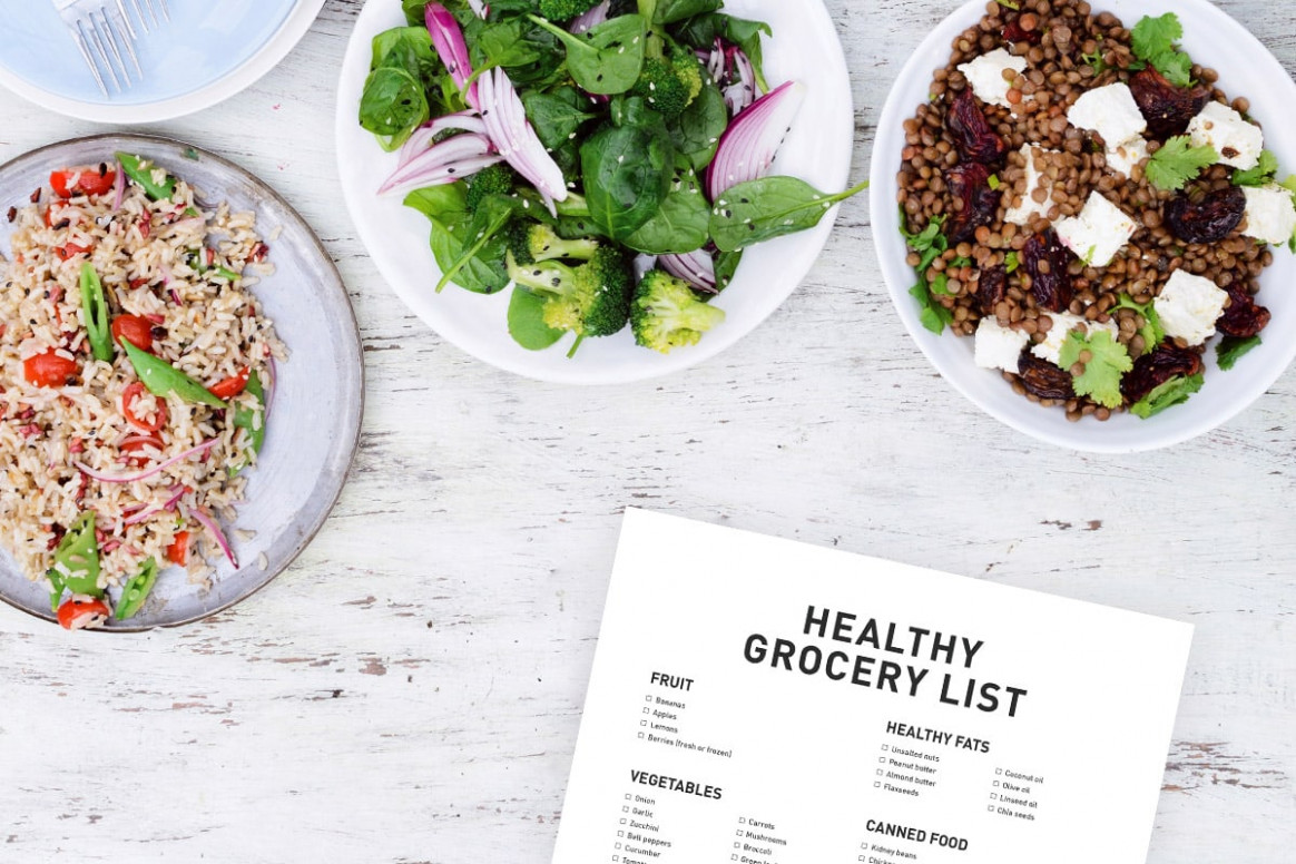 Healthy Shopping List: 14 Must-Have Foods in the House - healthy recipes list