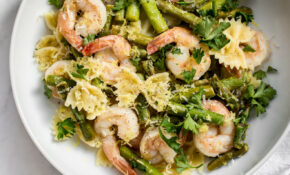 Healthy Shrimp And Asparagus Pasta Recipe – Recipes Pasta Healthy