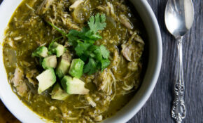 Healthy Slow Cooker Chicken Chile Verde | Ambitious Kitchen – Recipes Crock Pot Healthy
