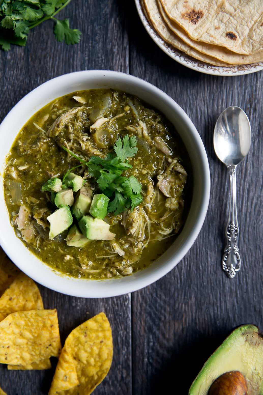 Healthy Slow Cooker Chicken Chile Verde | Ambitious Kitchen - recipes crock pot healthy