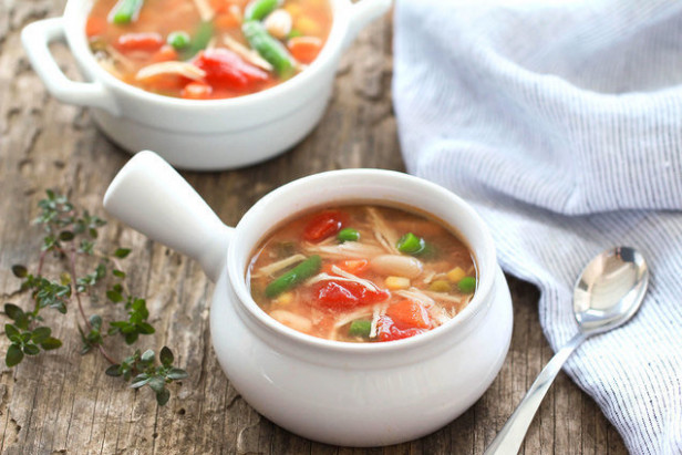 Healthy Slow-Cooker Chicken Recipes: Chicken & Veggie Soup ..