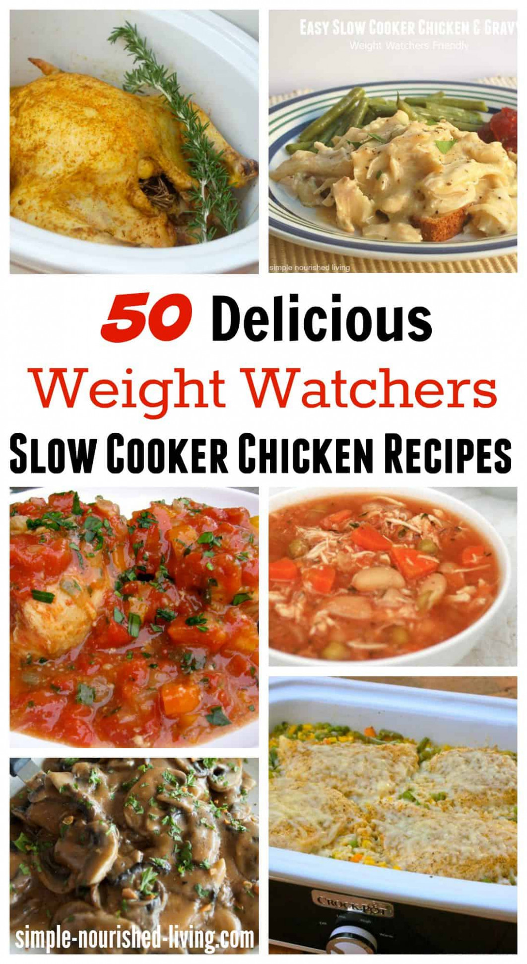 Healthy Slow Cooker Chicken Recipes For Weight Watchers - Healthy Slow Cooker Recipes