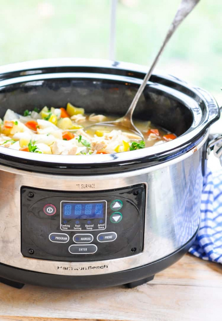 Healthy Slow Cooker Chicken Stew - recipes slow cooker chicken