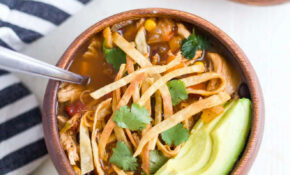 Healthy Slow Cooker Chicken Tortilla Soup – Healthy Slow Cooker Recipes Chicken