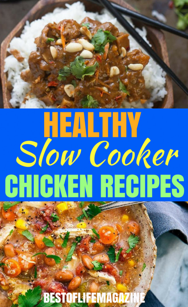 Healthy Slow Cooker Recipes with Chicken - Best of Life Magazine - healthy chicken recipes in slow cooker