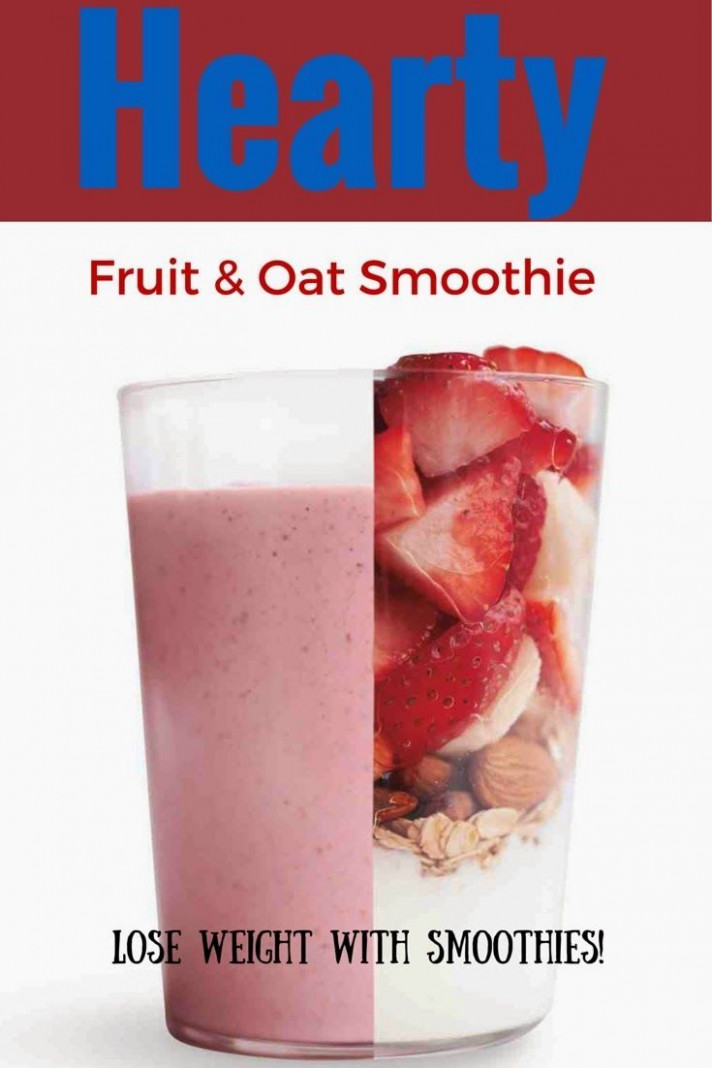 Healthy Smoothie Recipes: Healthy Fruit And Oat Smoothie ..