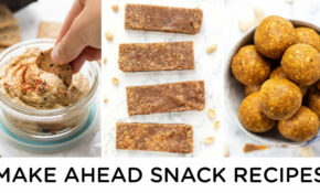 HEALTHY SNACK IDEAS | Make Ahead Snacks For Work Or School – Recipes Healthy Snacks