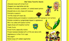 Healthy Snacks For Kids  Helping Kids Choose Healthier ..