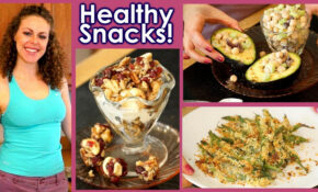 Healthy Snacks & Weight Loss Tips!! 15 Snack Recipes, High ..