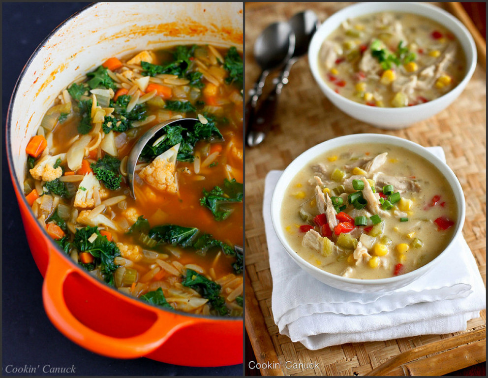 Healthy Soup Recipes - healthy recipes with chicken