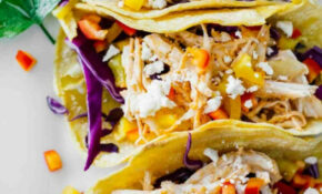 Healthy Sriracha Shredded Chicken Tacos – Jar Of Lemons – Recipes Using Shredded Chicken Healthy