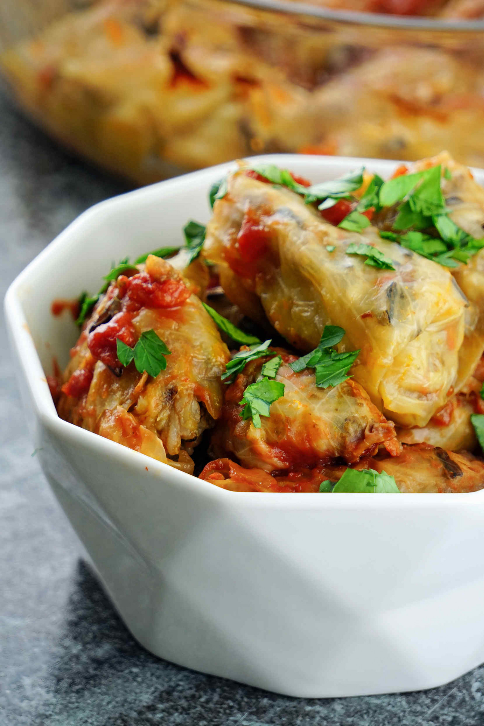 Healthy Stuffed Cabbage Rolls And Peppers, Gluten And Dairy ..