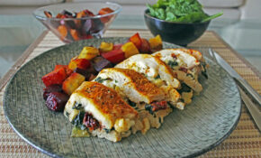 Healthy Stuffed Chicken Breast | Diabetes Strong