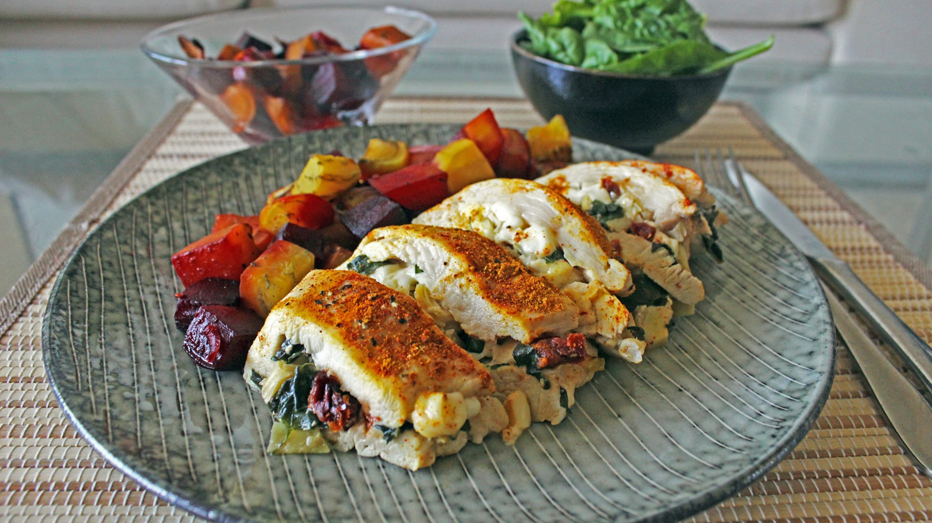 Healthy Stuffed Chicken Breast | Diabetes Strong - diabetic recipes chicken
