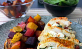Healthy Stuffed Chicken Breast | Diabetes Strong – Recipes Dinner Chicken Breast