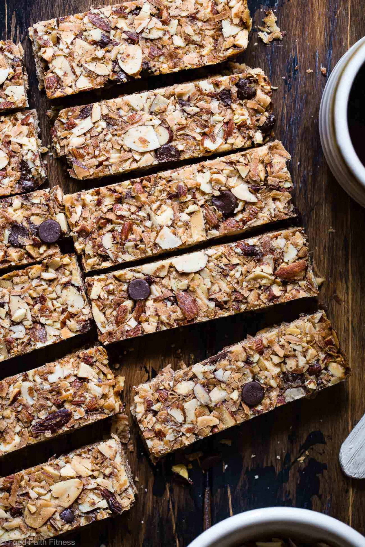 Healthy Sugar Free Keto Low Carb Granola Bars | Food Faith ..