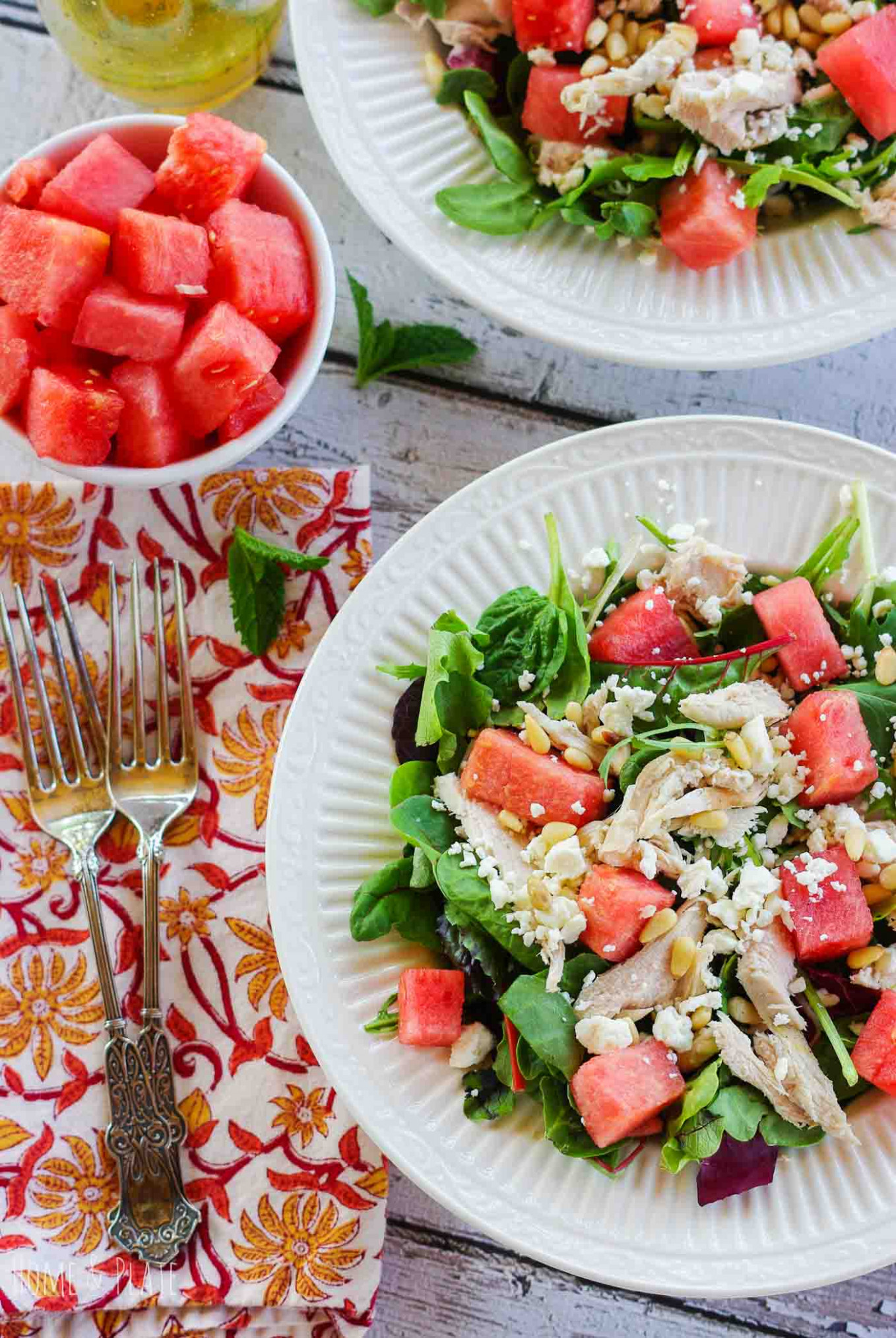 Healthy Summer Dinner Recipes: July Meal Plan - Rainbow ...