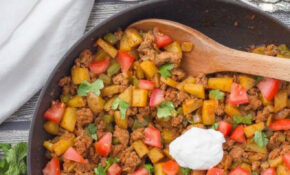 Healthy taco turkey and potato skillet - Family Food on ...