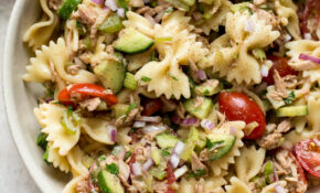 Healthy Tuna Pasta Salad – Recipes Pasta Healthy