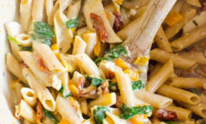 Healthy Tuscan Chicken Pasta (One Pot) – IFOODreal – Healthy ..