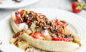 Healthy Vegan Banana Split – Healthy Recipes Using Bananas