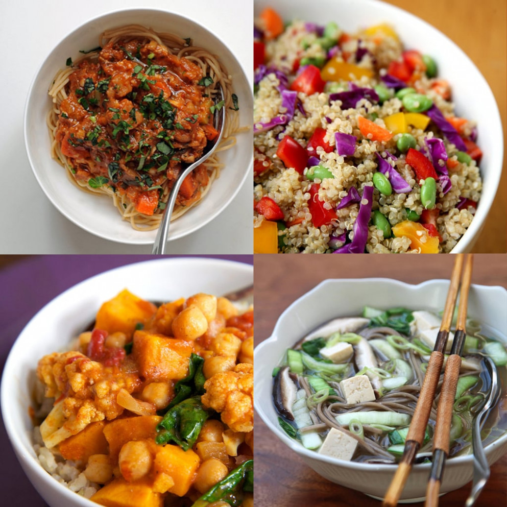 Healthy Vegan Dinner Recipes | POPSUGAR Fitness Australia - healthy recipes australia