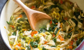 Healthy Vegetable Chicken Soup – The Girl Who Ate Everything – Recipes Of Healthy Soups