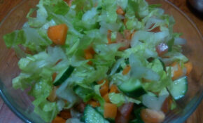 Healthy Vegetable Salad Malayalam Recipe | Diet For Weight ..