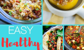 Healthy Vegetarian Crockpot Recipes – The Best Of Life Magazine – Healthy Easy Crockpot Recipes