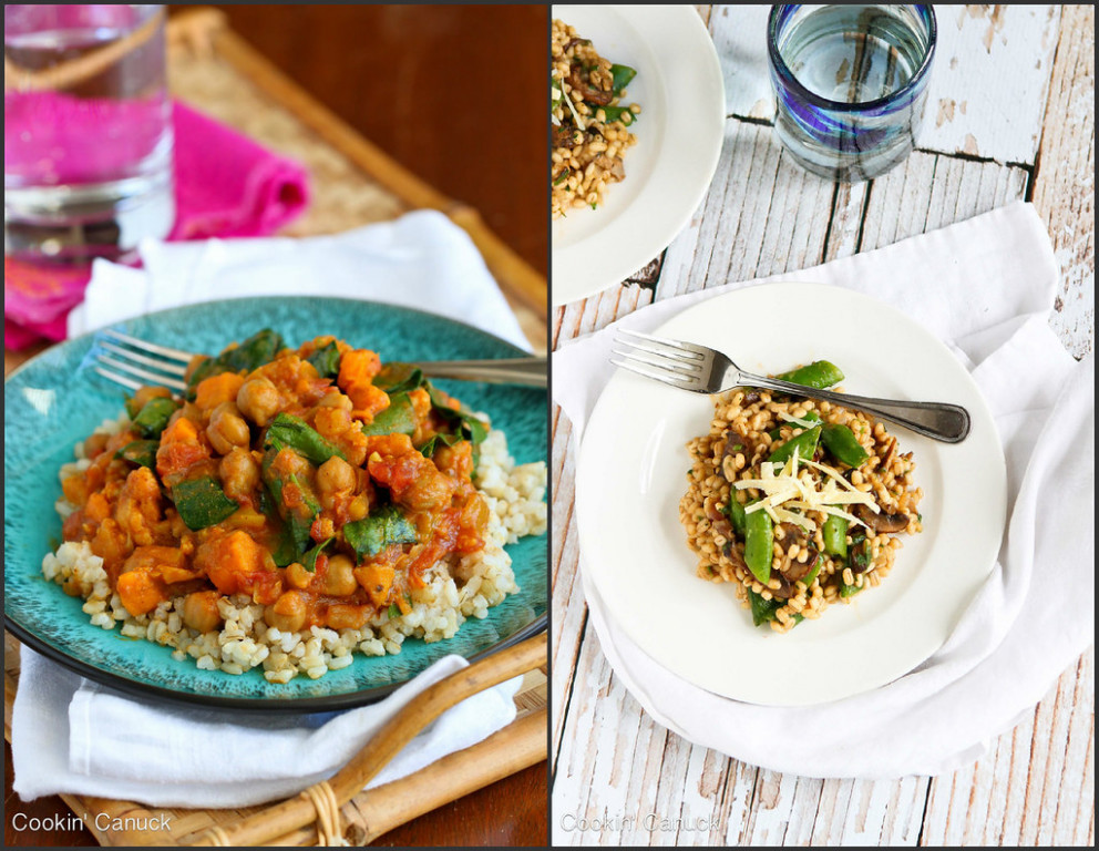 Healthy Vegetarian Dinner Recipes | cookincanuck